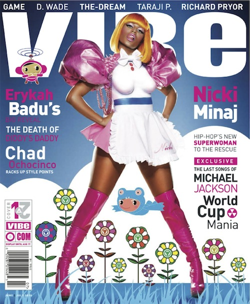 Nicki Minaj Face Paint. featuring Nicki Minaj and