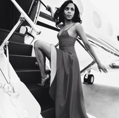 kerrywashington_boardingplane